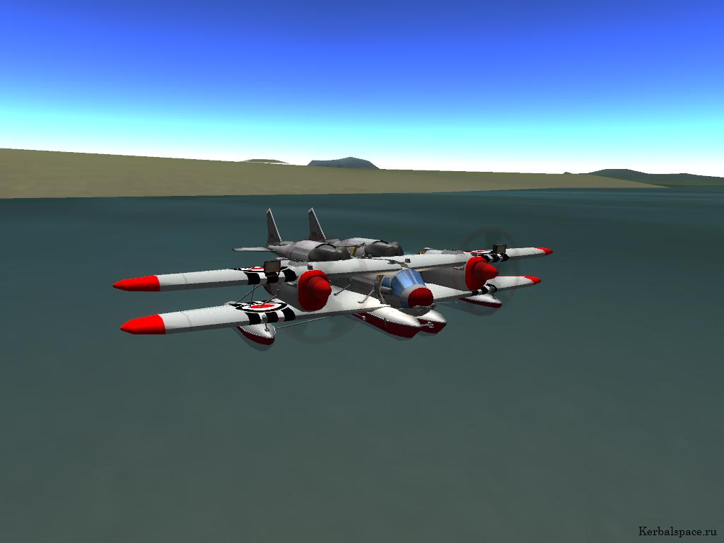 Обои Вода, Pby catalina, гидроплан, каталина, Самолёт. Авиация