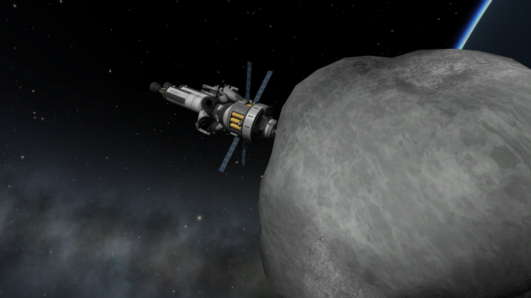 Kerbal Space Program 0.23.5 Asteroid Redirect Mission