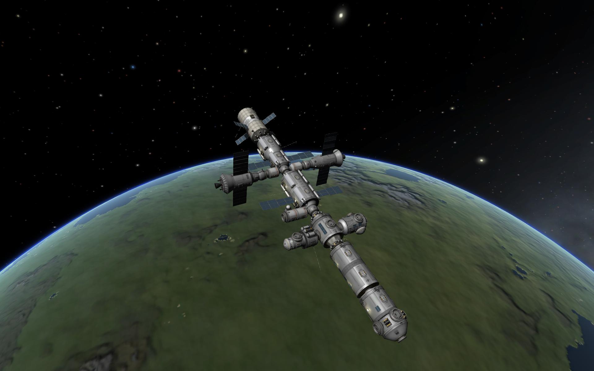 Реконструкция МКС » SpaceDock.<b>ru</b> - Моды, гайды, сохранения ...