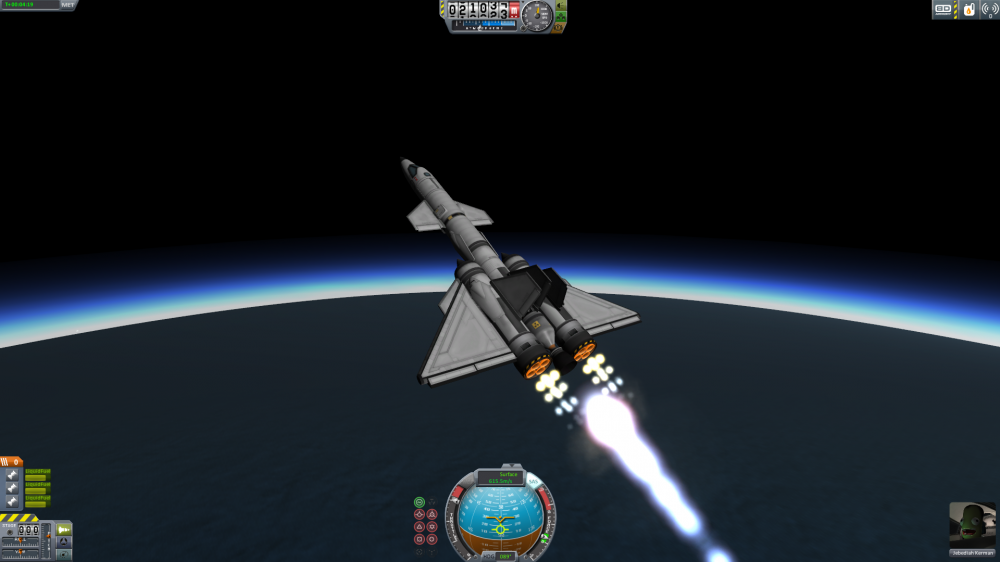 Легкий SSTO линейки NightEdge - Predator